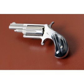 .22LR. North American Arms Black Pearl Mini Derringer Grips