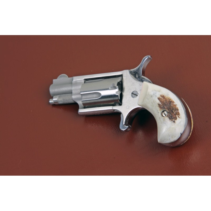 North American Arms Mini Derringer 22 Mag American Elk Grips