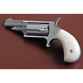 .22LR. North American Arms Mini Derringer White Polymer Grips