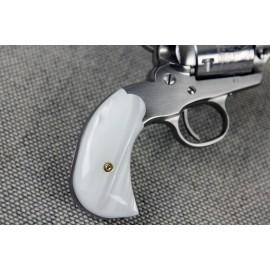 Ruger Shopkeeper WHITE ULTRA PEARL Kirinite™ Grips - SMOOTH