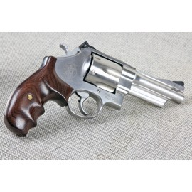 S&W N Frame Rnd Butt - Rosewood Combat Contour Grips - SMOOTH
