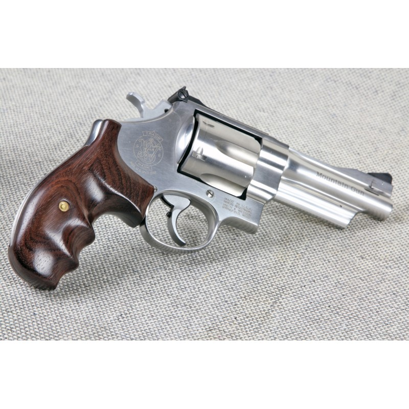Combat Classic - N Frame Round Butt Rosewood Revolver Grips