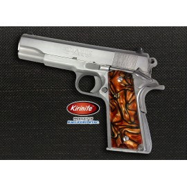 1911 Officer's Compact Kirinite® Bengal Tiger Grips