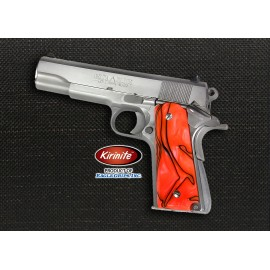 Kirinite™ TOXIC ORANGE Grips for the 1911