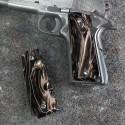 1911 Officer's Compact Kirinite® Desert Camo Grips