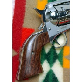 Ruger New Vaquero GENUINE ROSEWOOD Classic Style Grips - SMOOTH