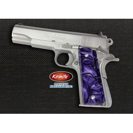 1911 Officer's Compact Kirinite® Purple Haze Grips