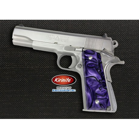 Kirinite™ PURPLE HAZE Grips for the 1911