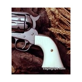 Ruger New Vaquero - Ultra Imitation Ivory CLASSIC Style Grips - SMOOTH