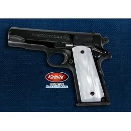 Colt Officers Model 1911 Kirinite® WHITE PEARL Grips