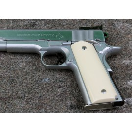 Colt Officer's Compact 1911 Ultra Ivory Grips