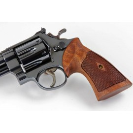 Smith & Wesson K/L Frame Square Butt Heritage Rosewood Checkered Grips