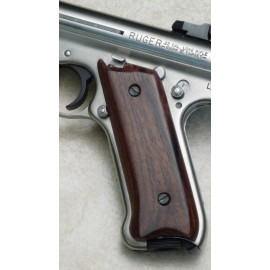 Ruger Mark II GENUINE ROSEWOOD Panel Grips - SMOOTH