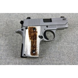 Walther PPK/S by Interarms American Elk Grips