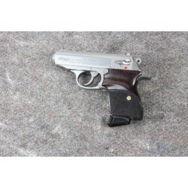 Walther PPK by Interarms - Checkered Rosewood Grips