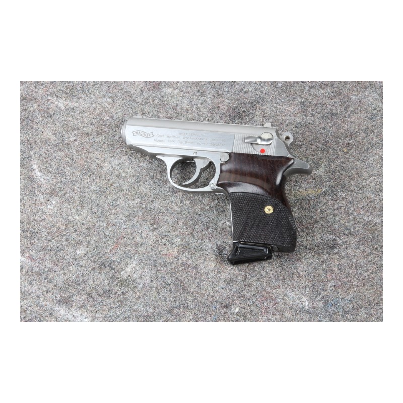 walther interarms ppk rosewood checkered grips