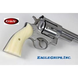 Ruger Redhawk Square Butt - Imitation Ivory Kirinite Pistol Grips