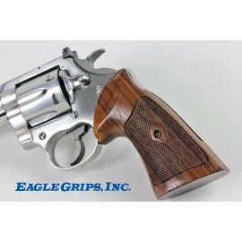 Colt King Cobra Rosewood Heritage Grips Checkered
