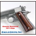 1911 Genuine Rosewood Traditional Grips Smooth