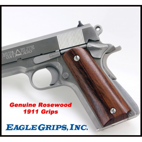 Colt 1911 Rosewood SMOOTH Grips