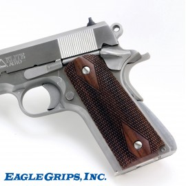 1911 - Genuine Rosewood Panel Grips - CHECKERED