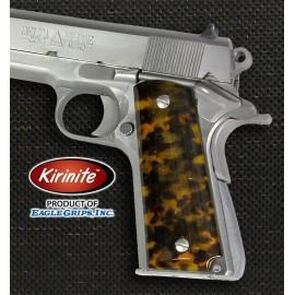 1911 Kirinite® Tortoise Shell Grips