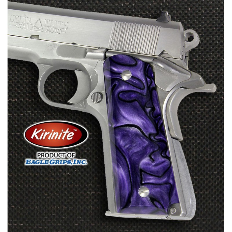 Colt 1911 Purple Haze Kirinite Grips