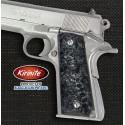 1911 Kirinite® Black Ice Grips