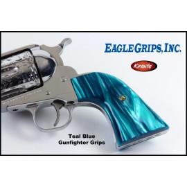 Ruger New Vaquero - Aqua Marine Kirinite™ Gunfighter Grips