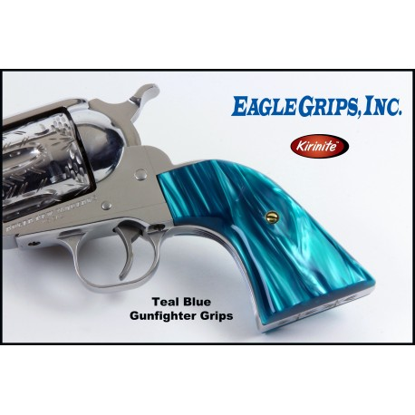 Ruger NEW Vaquero Teal Blue Gunfighter Grips