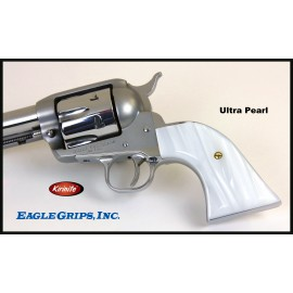 Ruger New Vaquero Traditional Kirinite® White Pearl Smooth Grips