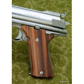 Auto Mag .44 Genuine Rosewood Panel Smooth Grips