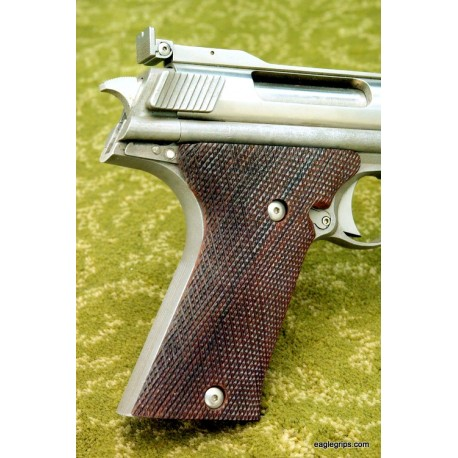 AutoMag .44 Rosewood Checkered Grips