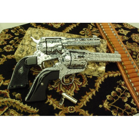 Ruger Black Polymer Classic Style Grips