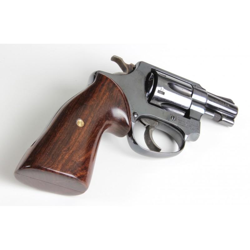 S&W J Frame Round Butt Secret Service Rosewood Grips