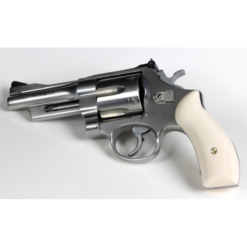 S&W K/L Frame Round Butt Ultra Ivory Grips