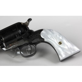 Ruger Bearcat WHITE ULTRA PEARL Kirinite™ Revolver Grips - SMOOTH