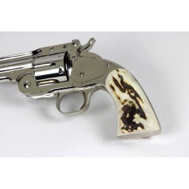 Navy Arms Schofield Sambar Stag Grips