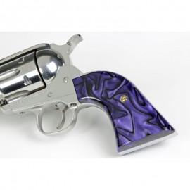 Ruger NMSS - Purple Haze Kirinite Revolver Grips
