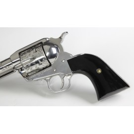 Ruger Black Polymer Smooth Classic Style Grips