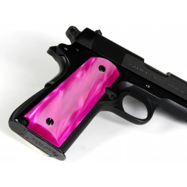 1911 - Kirinite™ Perfect Pink Pistol Grips