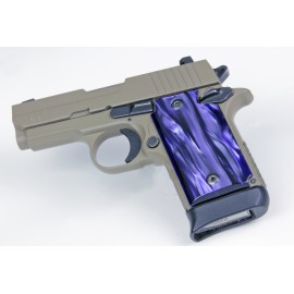 Sig Sauer P938 KIRINITE™ Pistol Grips - Purple Perfection