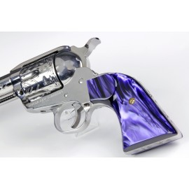 Ruger XR3-Red - Purple Perfection Kirinite Revolver Grips