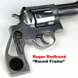 Ruger Redhawk Round Butt GENUINE ROSEWOOD Panel Grips - SMOOTH