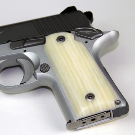Kimber Micro 9 Kirinite Ivory