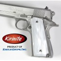 1911 Kirinite® White Pearl Grips