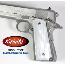 Kirinite™ WHITE PEARL Grips for the 1911