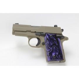 SIg P938 Kirinite Deep Purple Grips