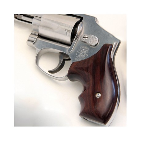 S&W J Round Frame Secret Service Rosewood Grips