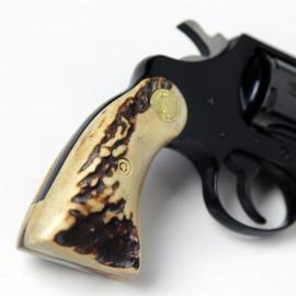 Colt Post 66' D frames Extended Stag Grips